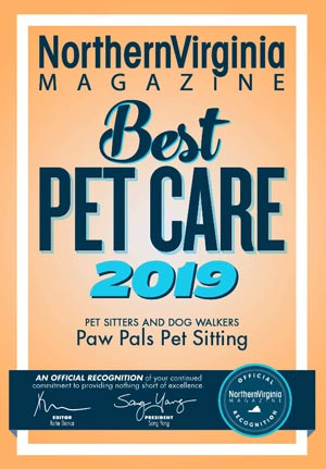Northern Virginia Magazine - Best Pet Care 2019 Award